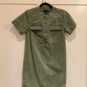 J. Crew Army Green Dress